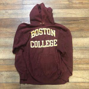 Boston College Vintage Champion 90s Hoodie NCAA